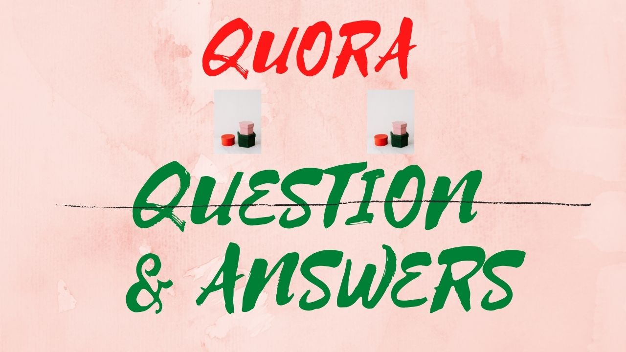 I Give 10 Quora Questions & Answer with Backlink