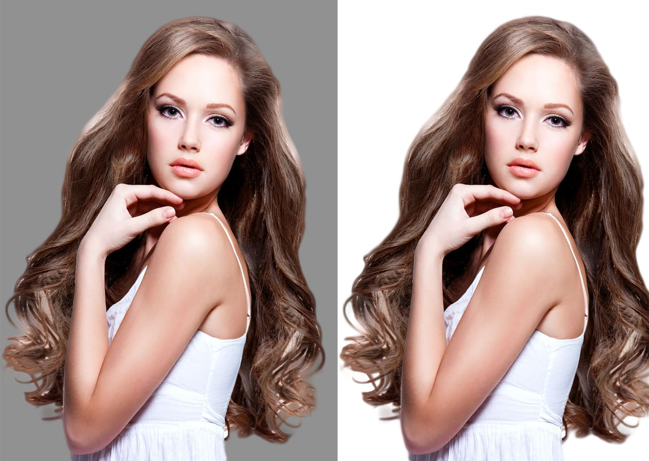 I will do background removal, editing, white, cut out 10 images
