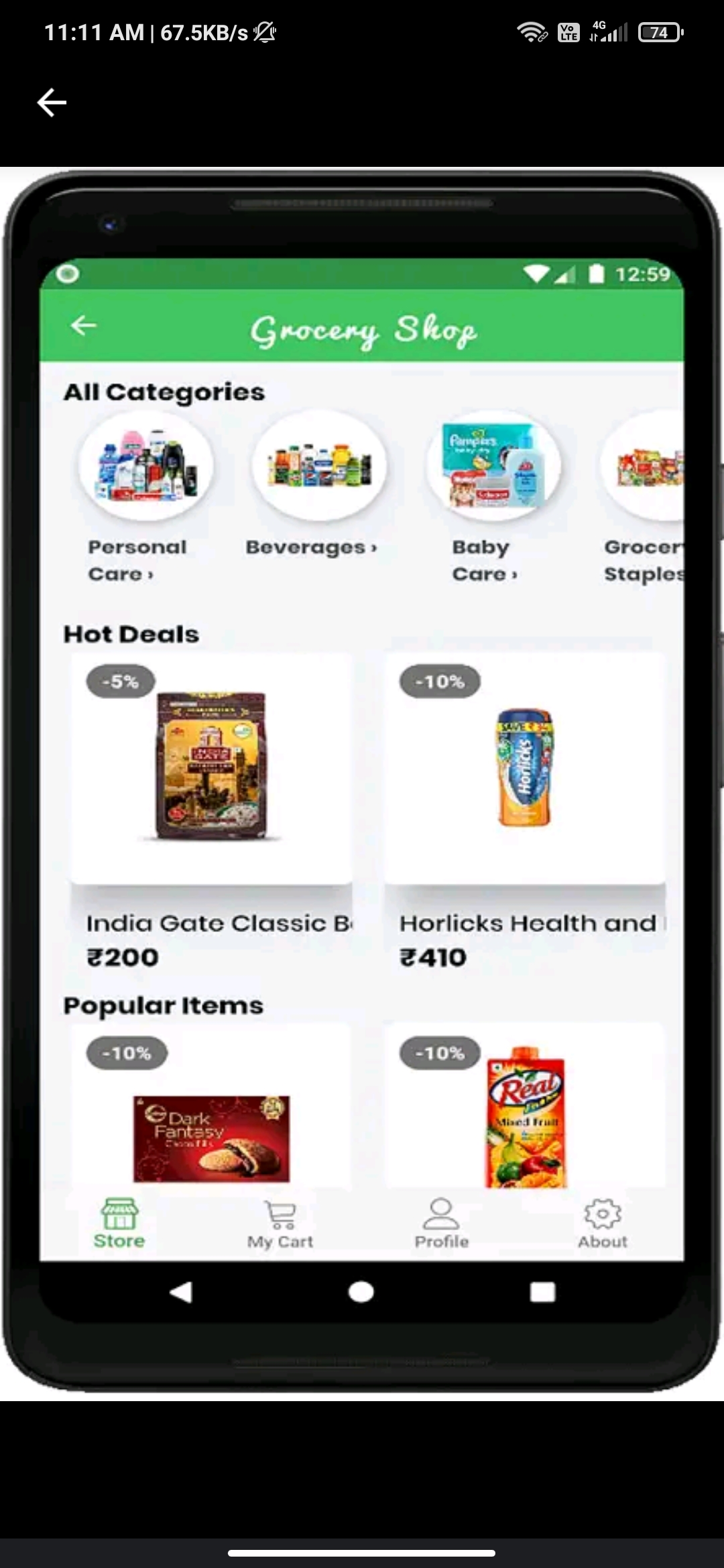 e-commerce app source code fore sale