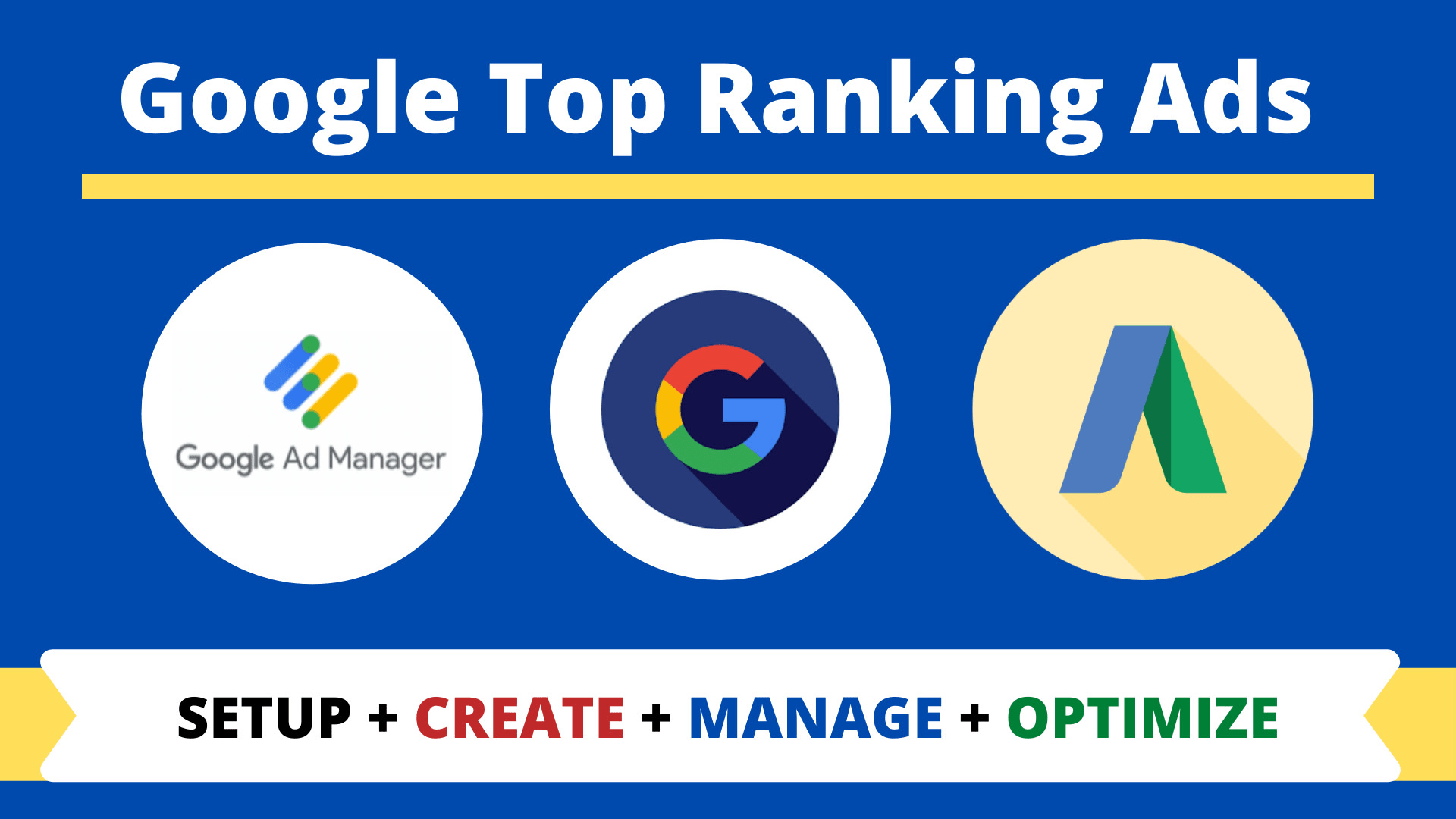 I will setup google adwords search ads for top ranking