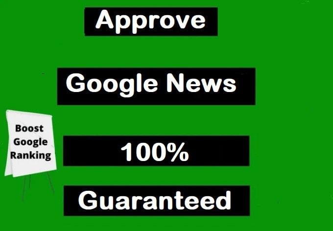 I will get google news approval on wordpress blog,  get free traffic