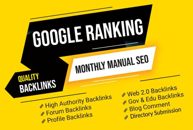 I make a 500 High Quality Backlinks provide