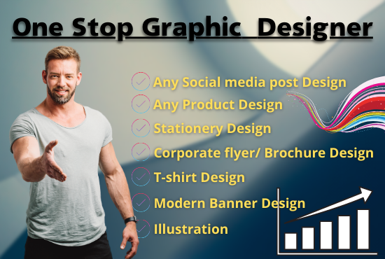 I will do any graphic design for you in 24 hour