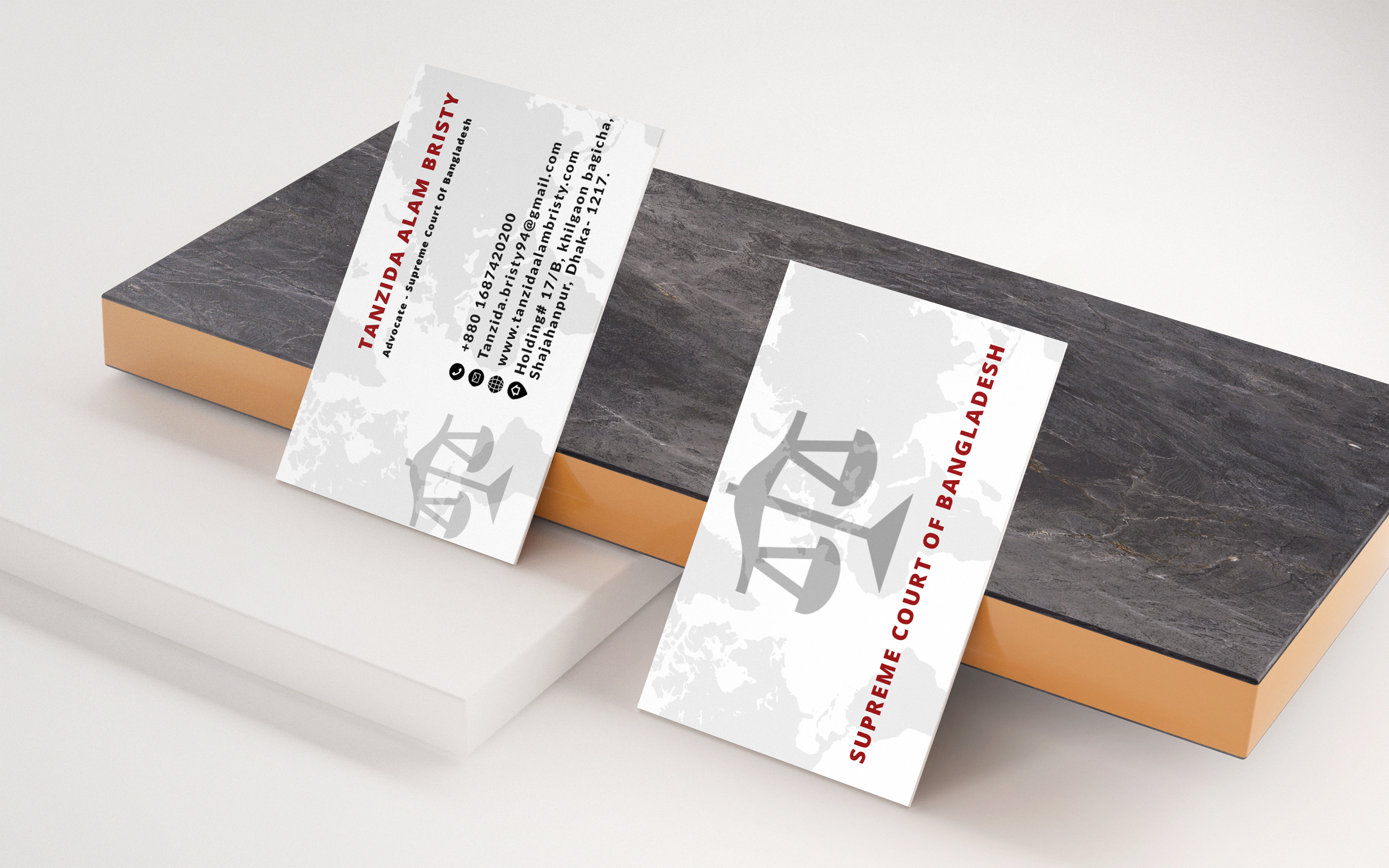 I will create attractive custom business card design in 24 hour