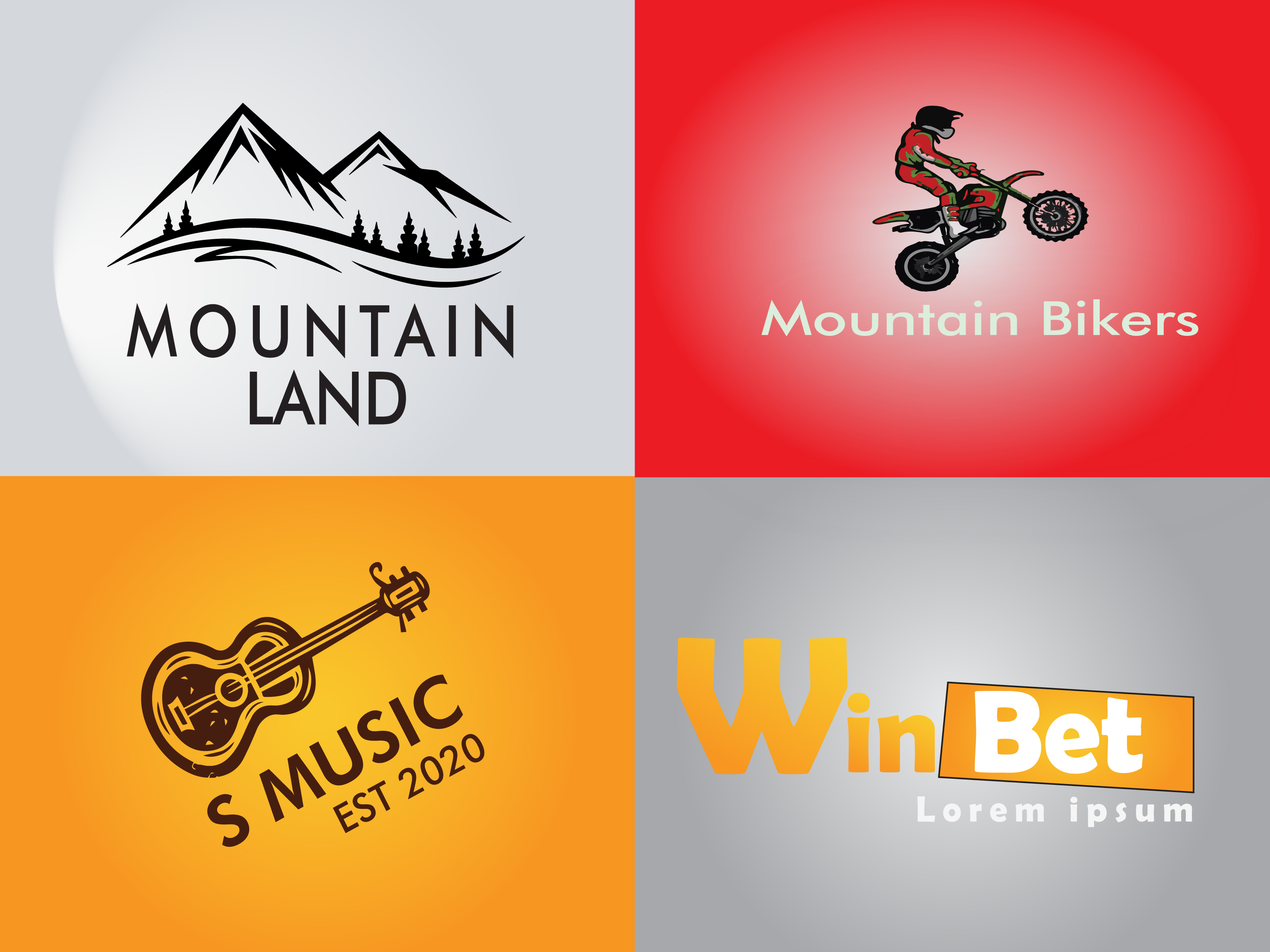 I will create your minimalist 1 logo in 1 day