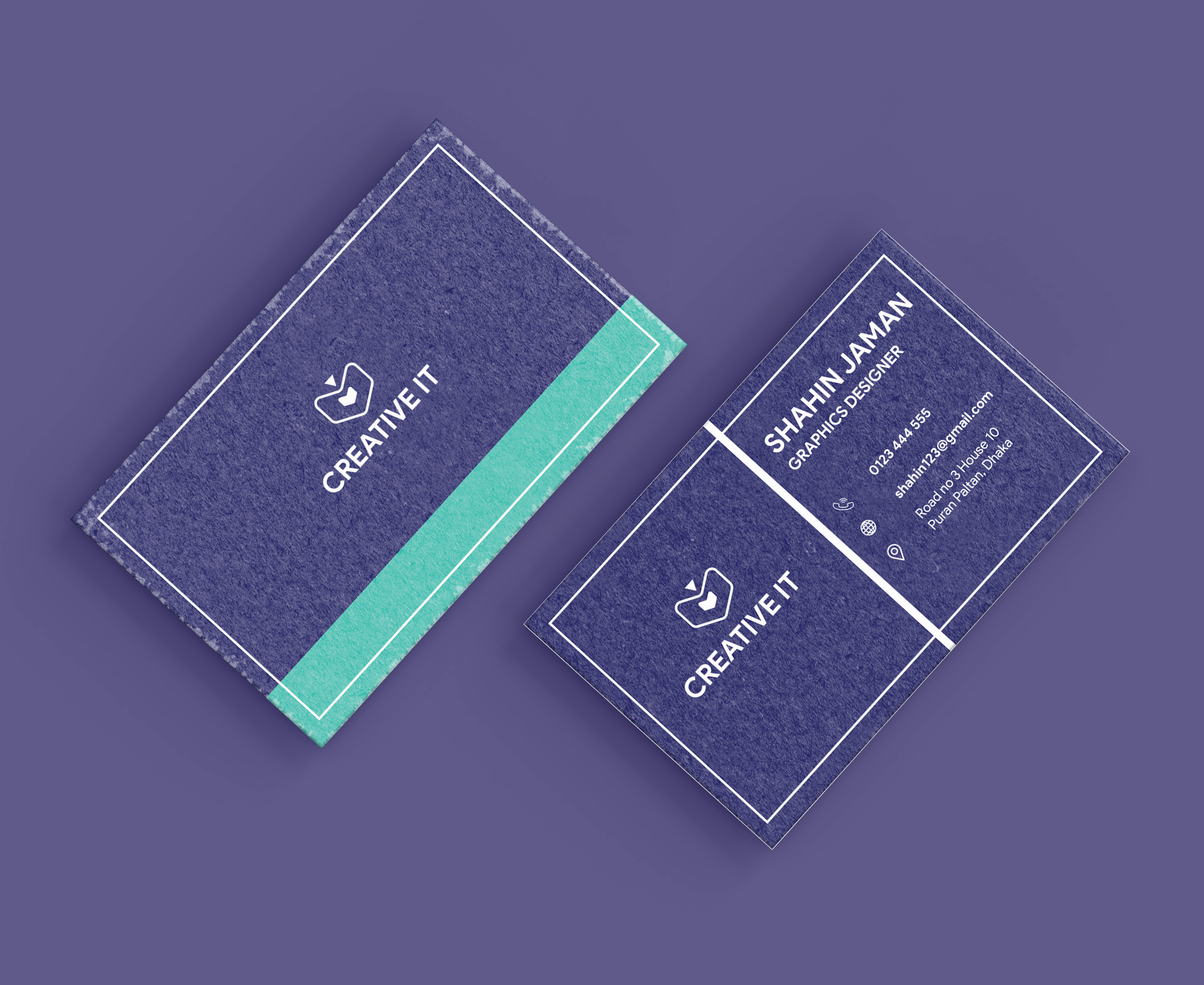 I will design unique and professional business card for you within 48 hours