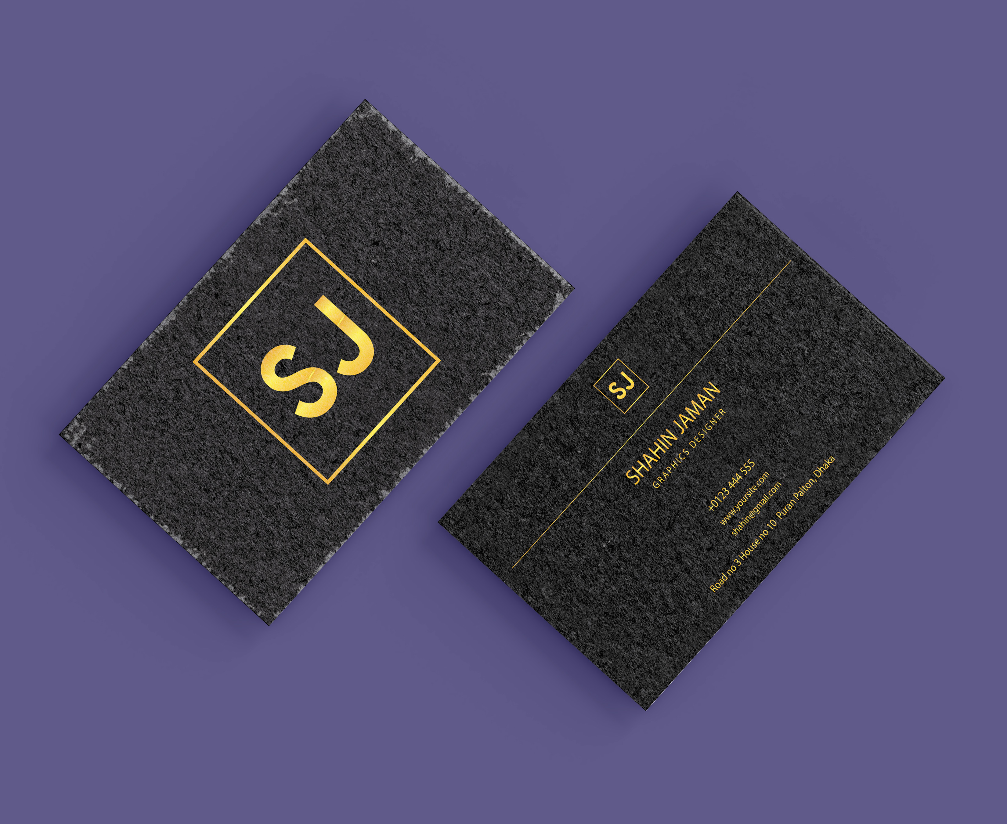 I will create custom luxury business card design within 48 hours