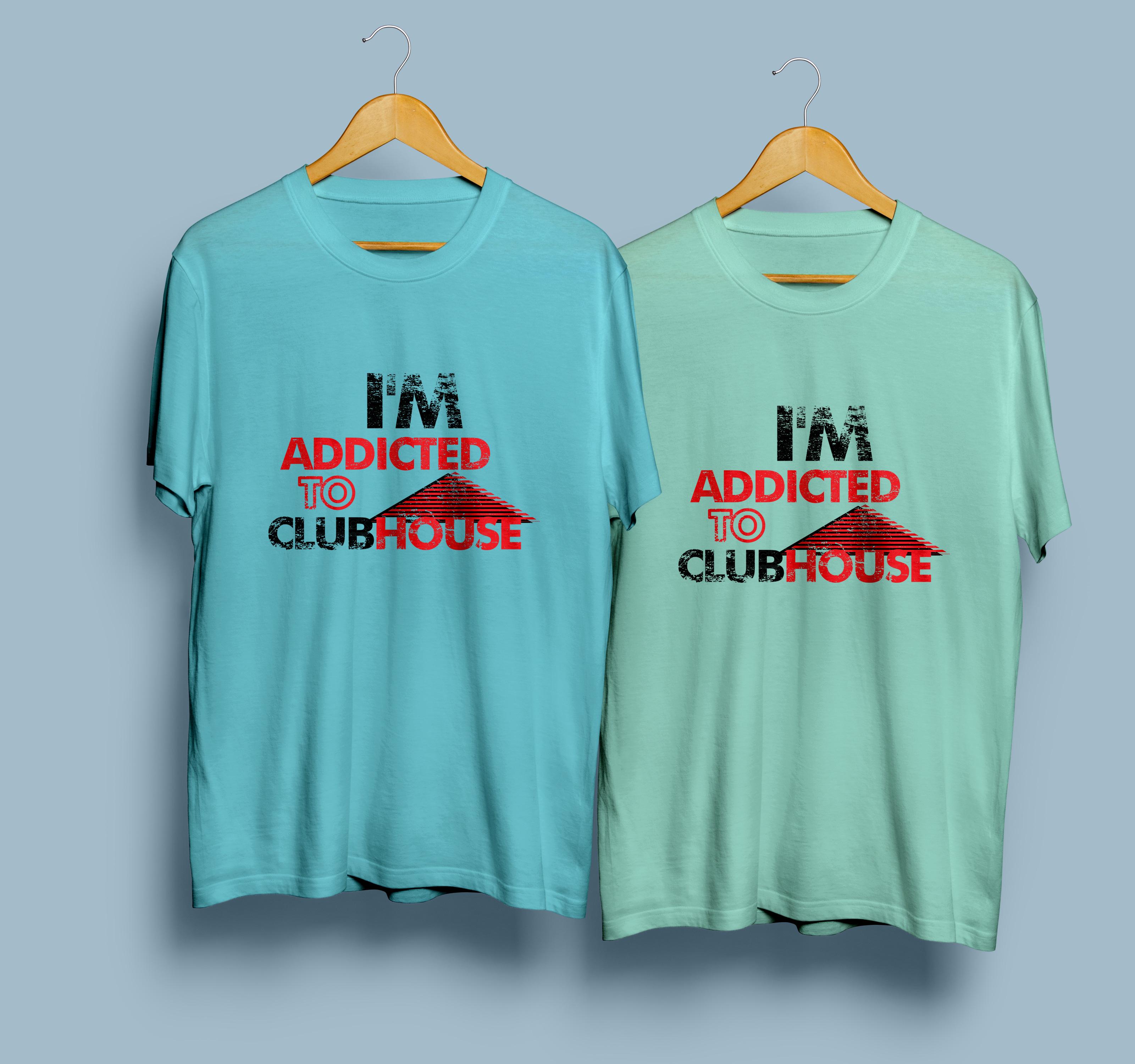 I will do minimalist and typography t shirt design