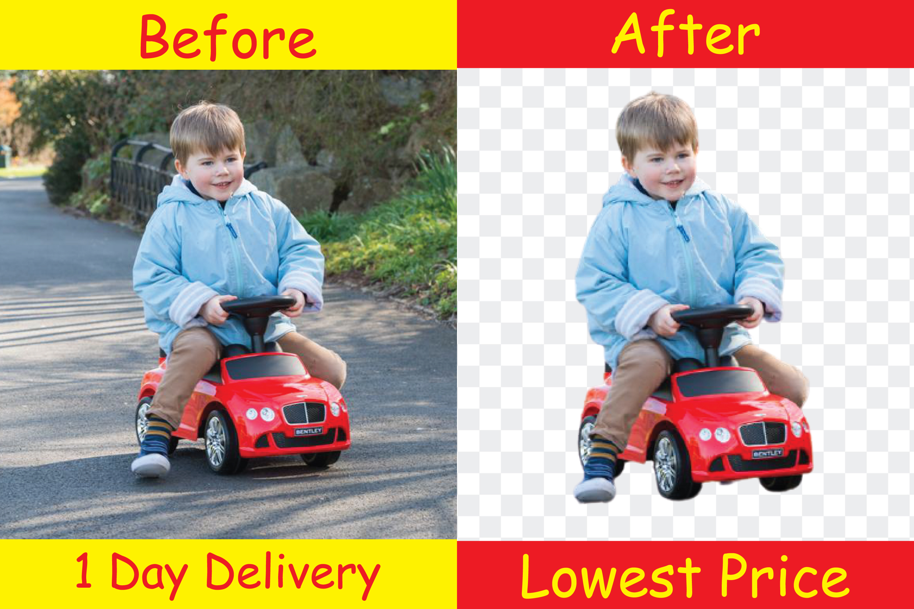 I will remove background at lowest price