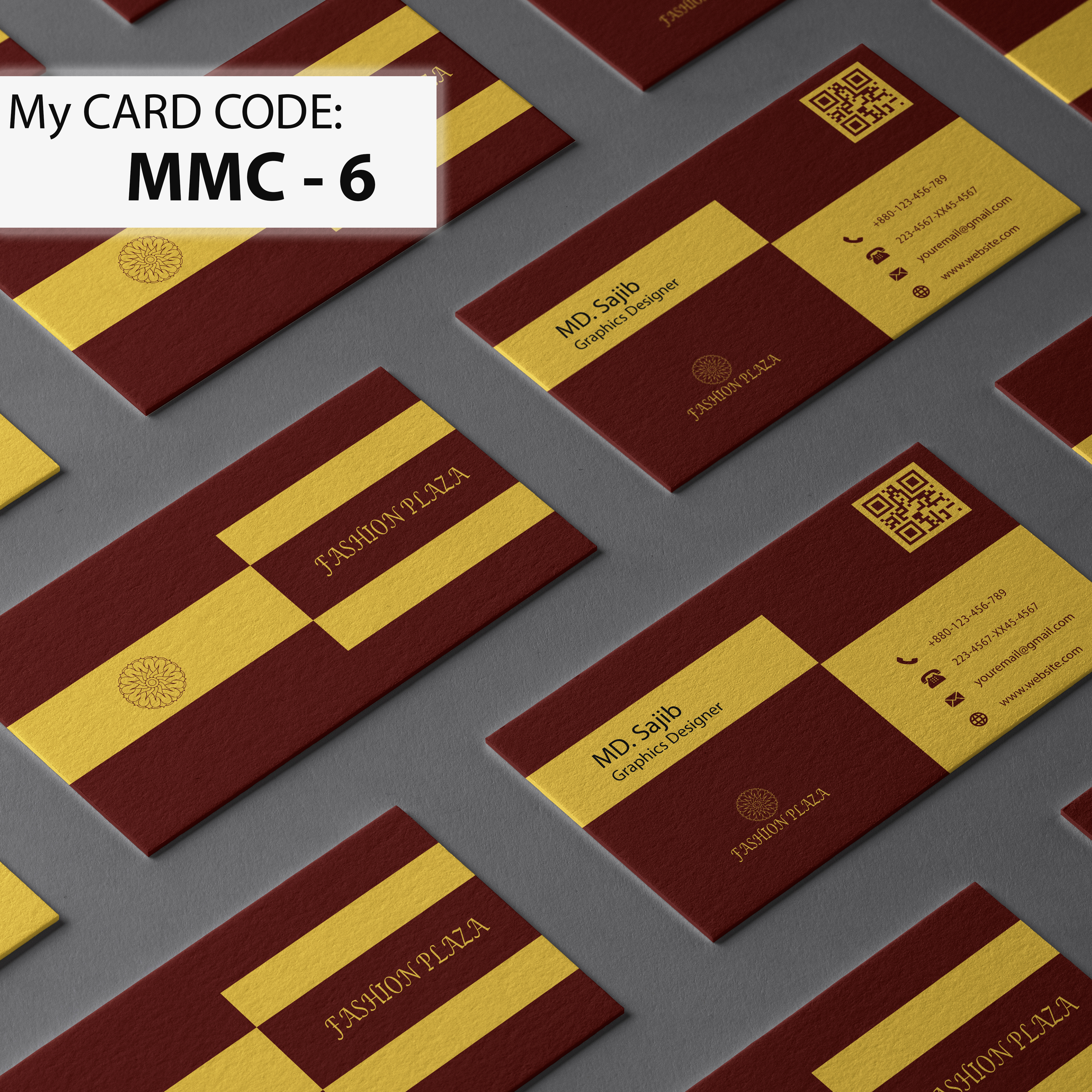 I will Design Mordern Minimalist Business card for you in 1 day