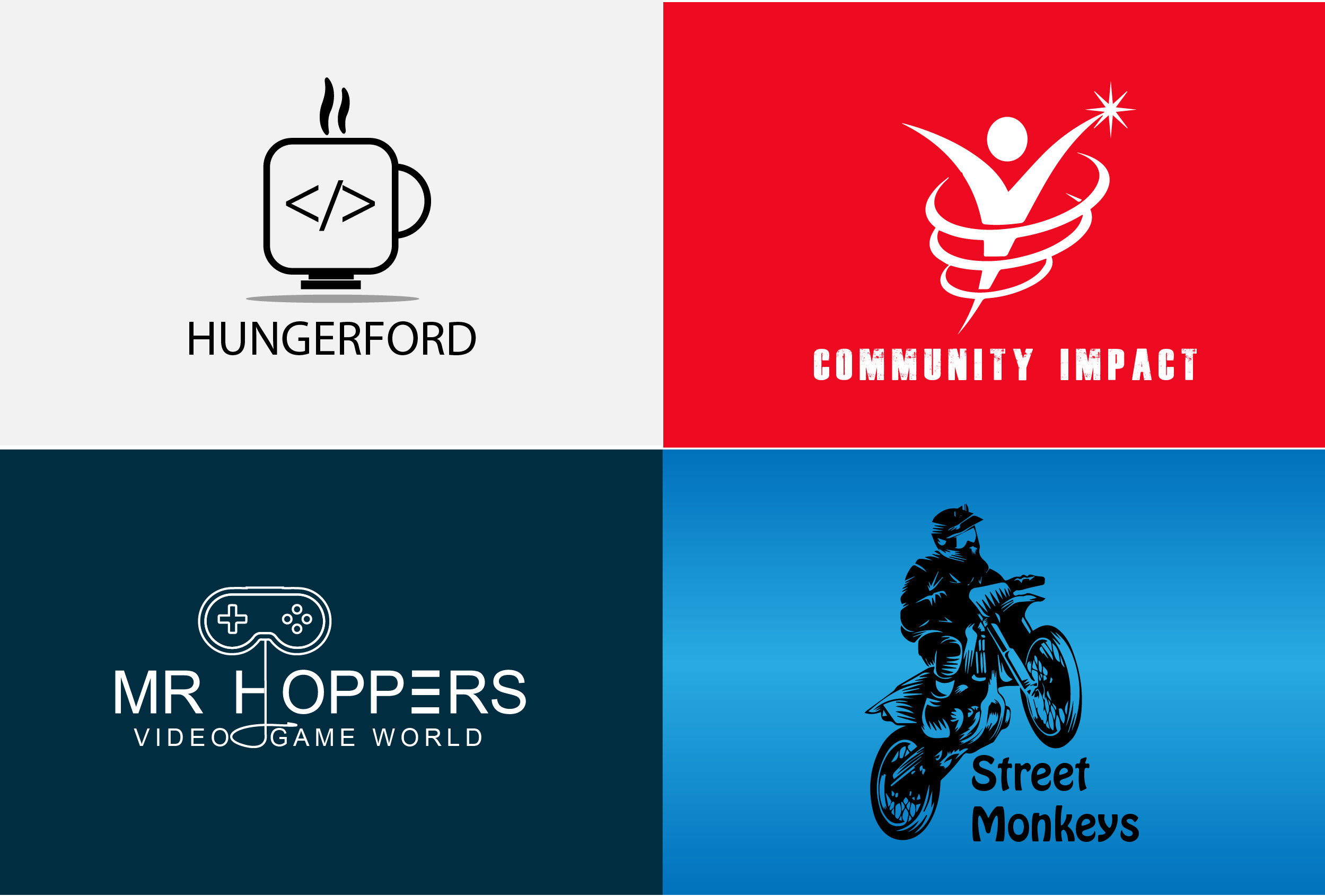 Design Unique & Creative Logos for your Brand,  Business,  Website and many more