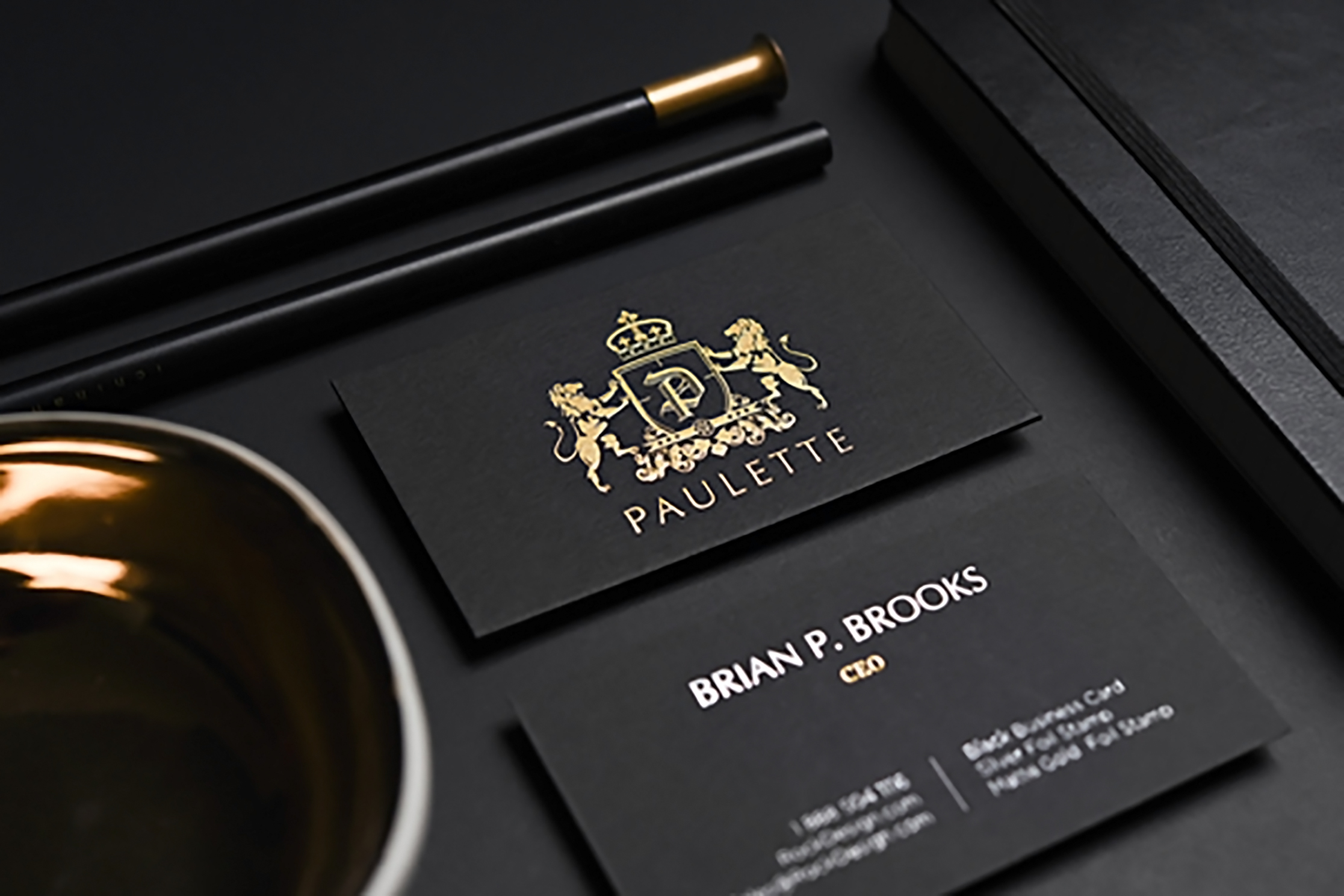 Design you luxury business card within 2 hours