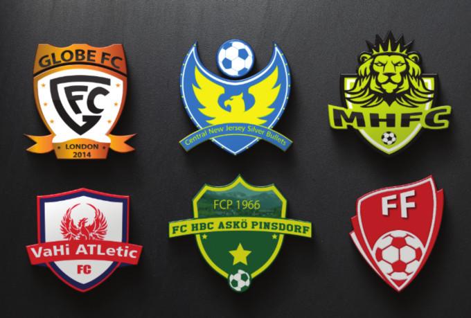 I will do football logo design in 12hr