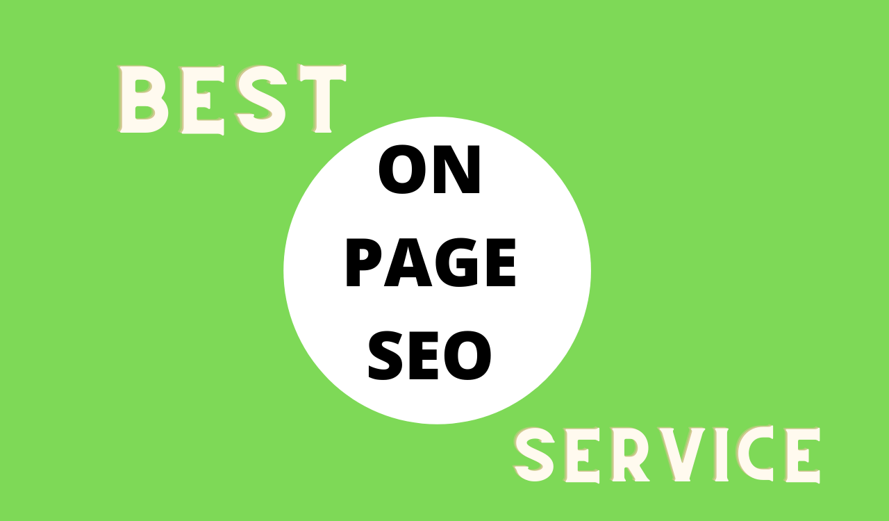 Let me handle the On Page Seo for your Website