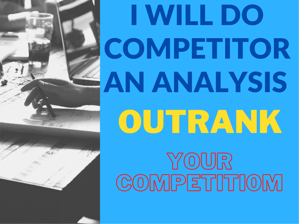 I will practice expert Competitor Analysis & SEO Keyword Research for your website top page.