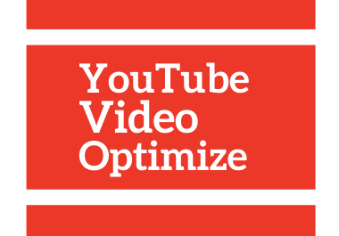 I will Optimize your YouTube Video Title,  Description & Tags.