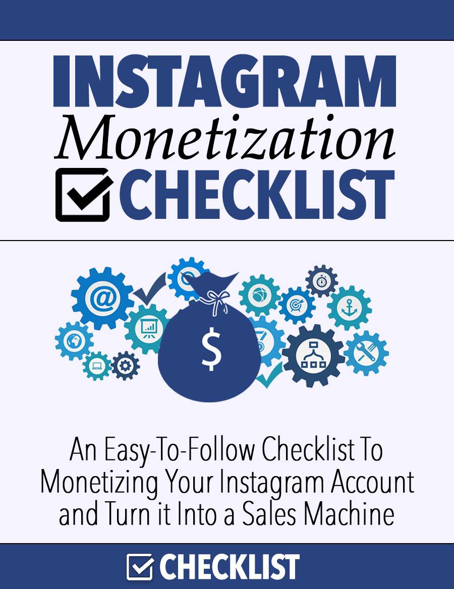 Instagram Monitization check list