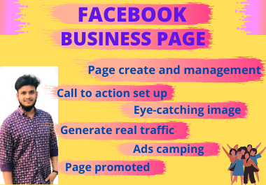 I will develop a Facebook business page