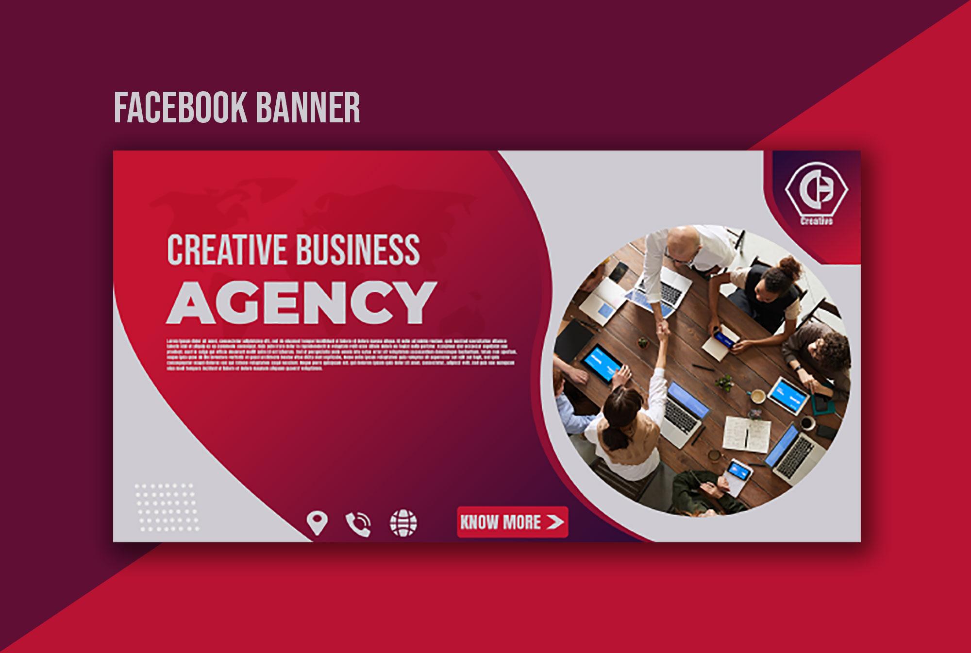 I will design a professional facebook cover