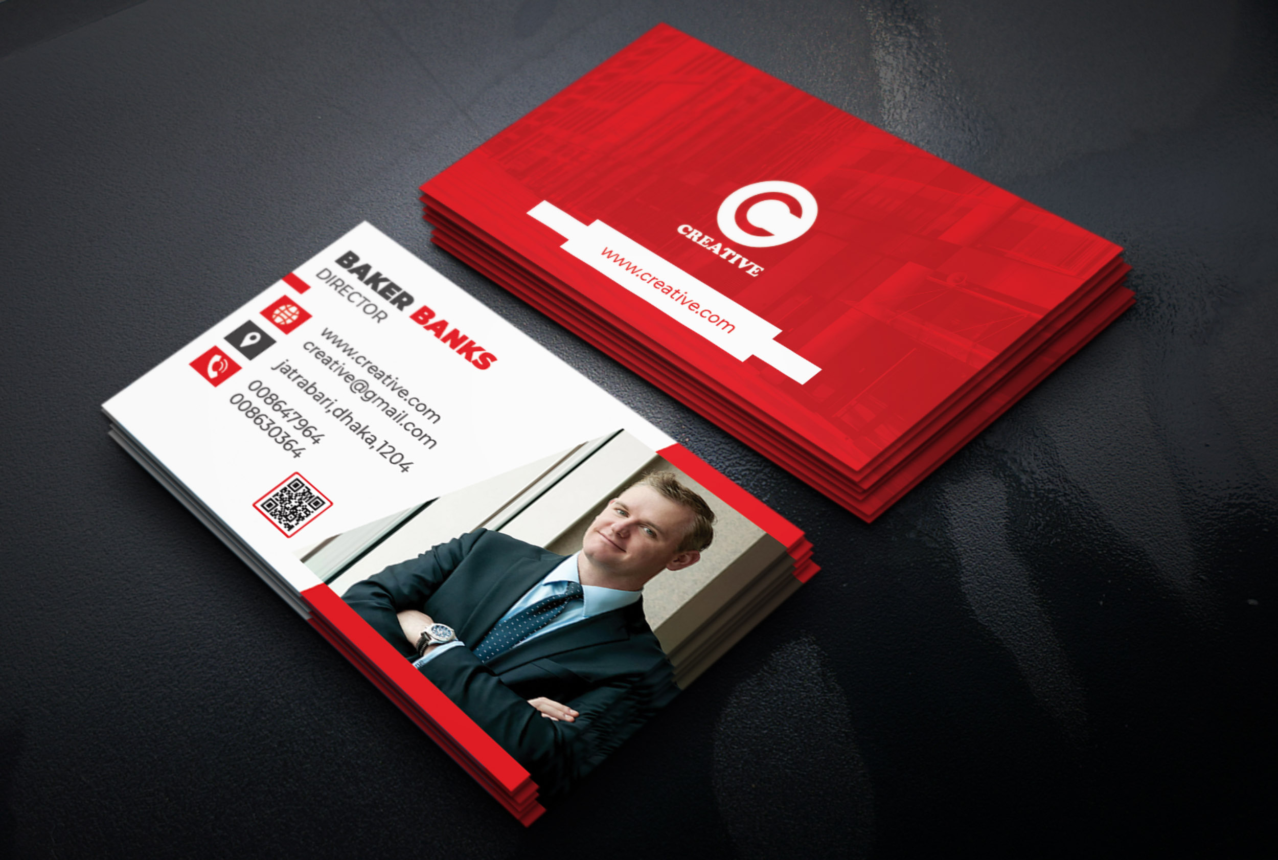 I will create an amazing and unique business card design for you