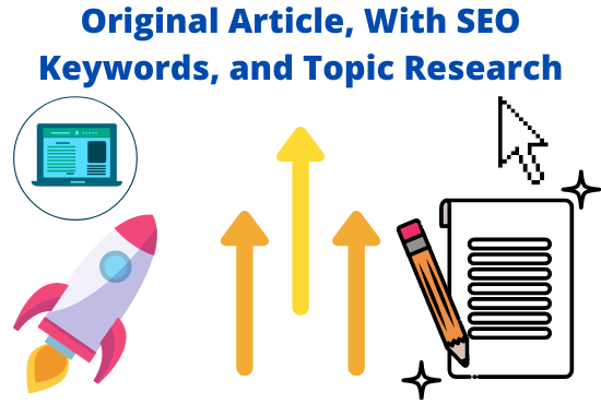I will write a professional article,  with SEO