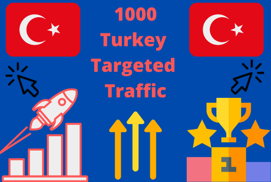 1000+ Real Human Turkey - Targeted Traffic To Your Web or Blog