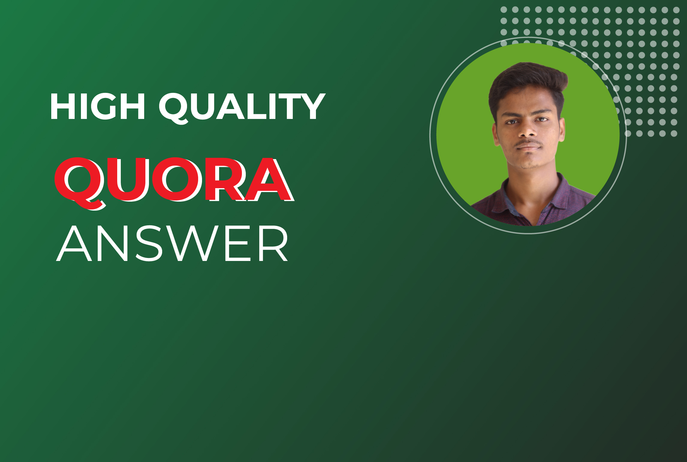 I will Promote Your website 10 High Quality Quora Answer