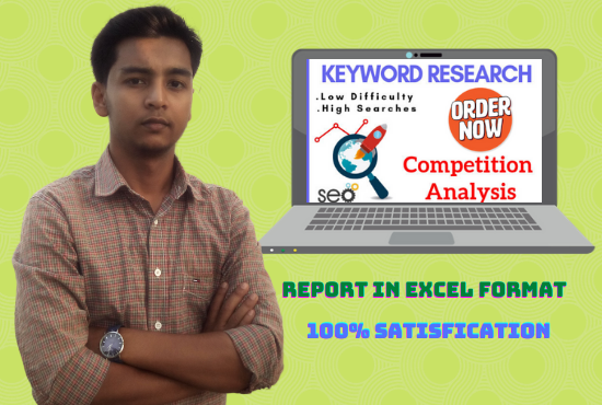 I will do excellent keyword research and provide most profitable keywords