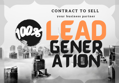 I will do best b2b lead generation and targeted lead generation