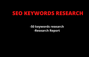 I will do SEO keyword research for google top ranking