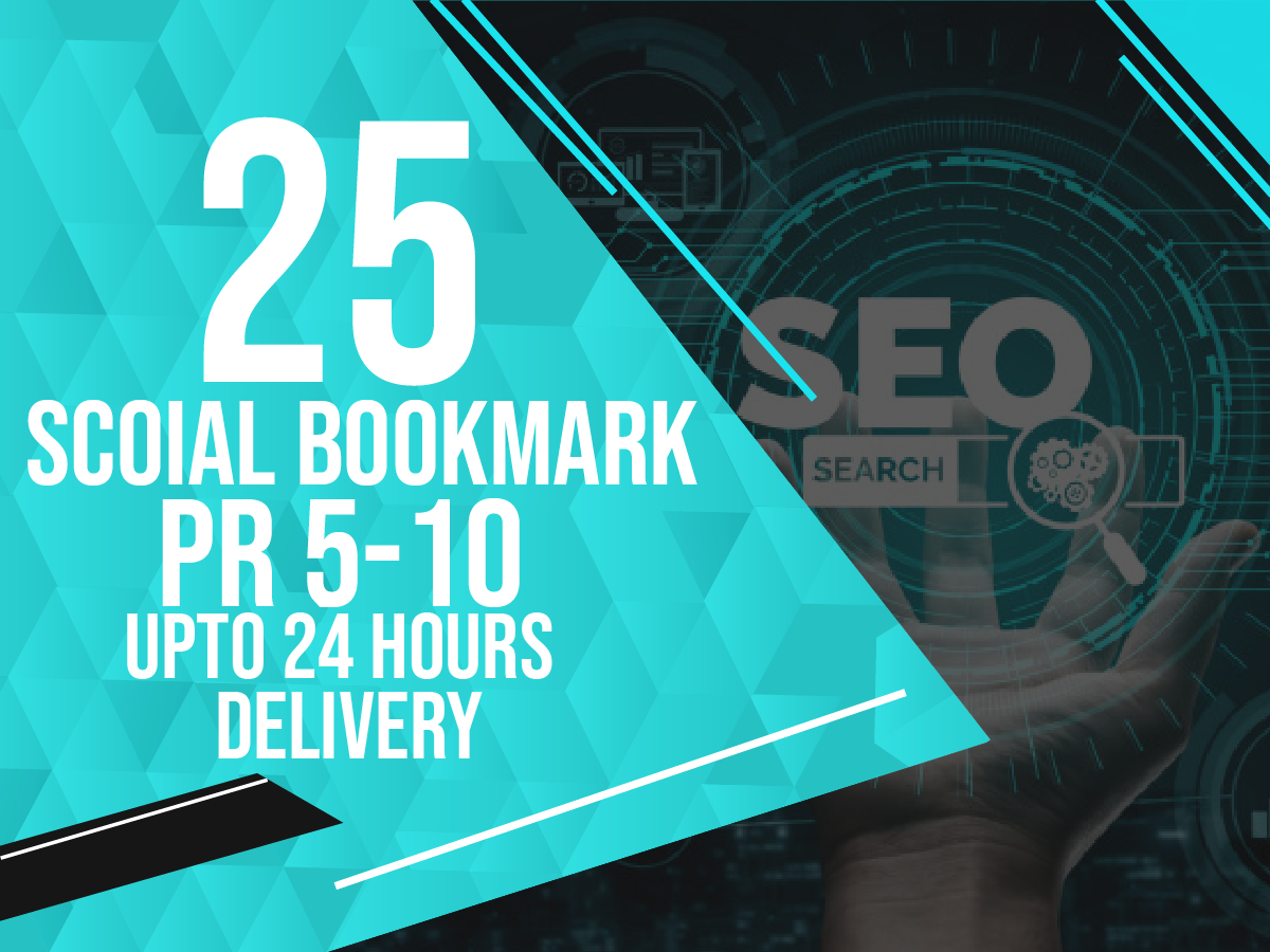 25 Instant social bookmarking backlinks
