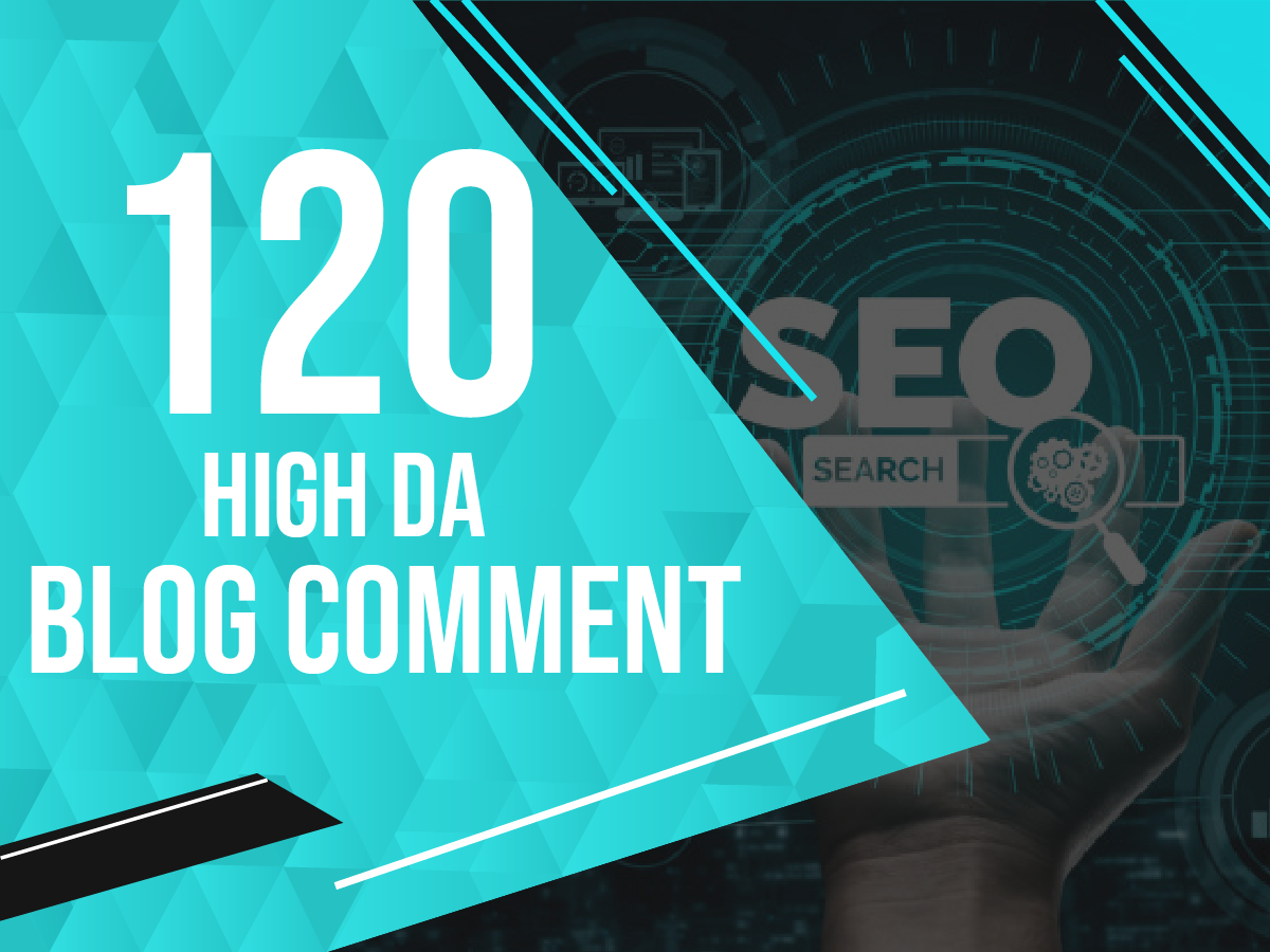Build 120 Extreme Quality do follow Blog Comment backlinks