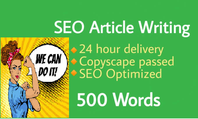 500+ words unique content/ Article Writing for your website
