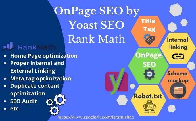 I will optimize your WordPress site with the Yoast SEO plugin.