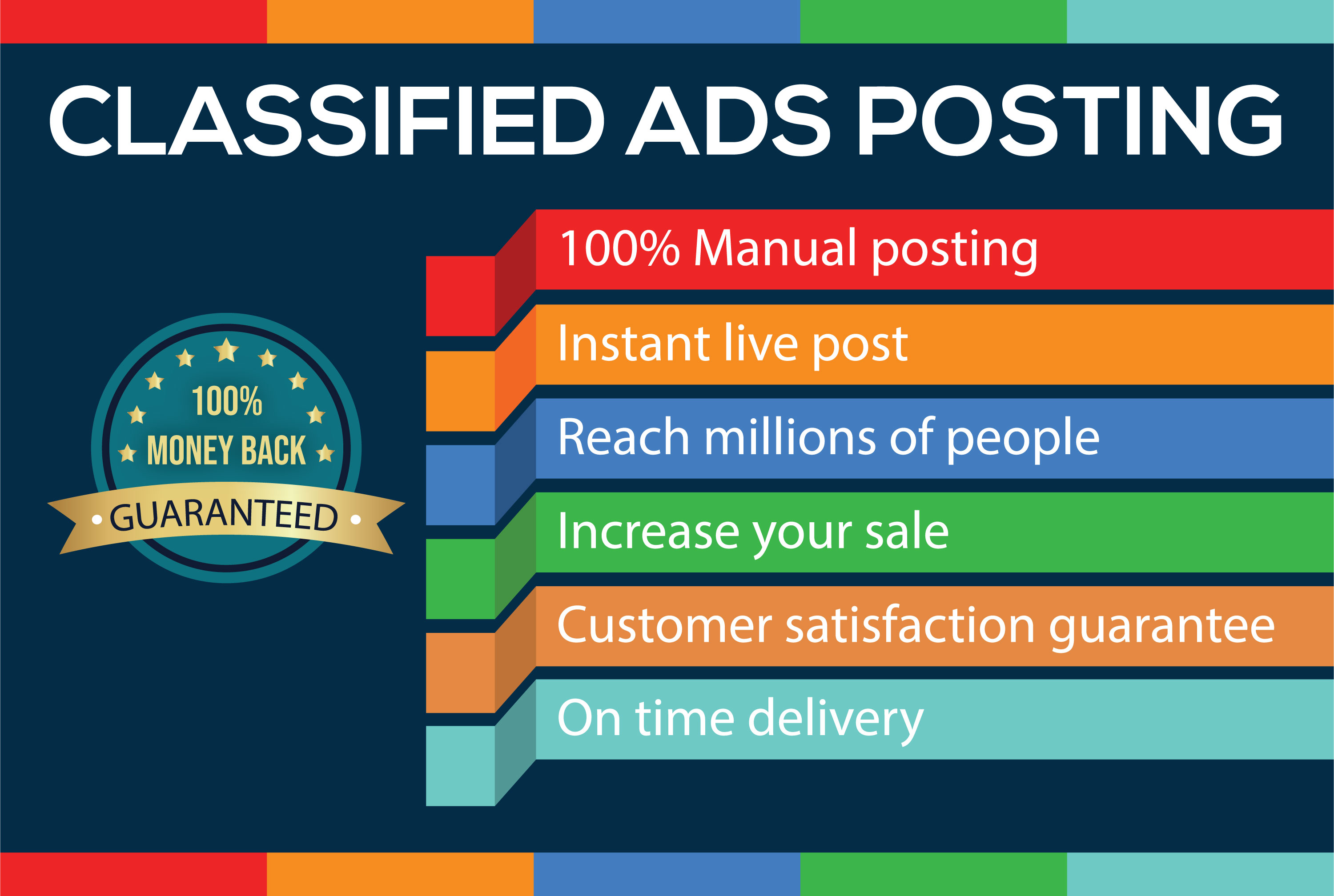 I will post your ad in top USA classified ad posting sites