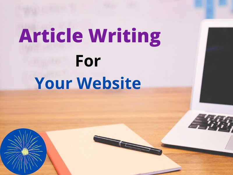 I will write articles for your websites.