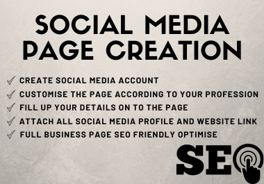 Perfectly Setup Your social media Business Page