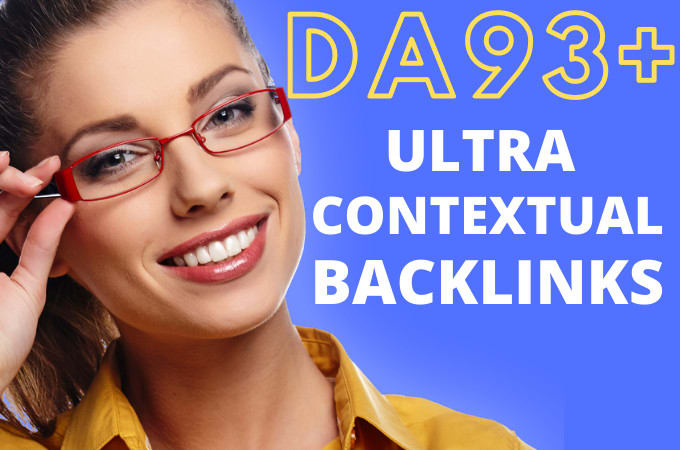 100 Contextual Backlinks UpTo DA93