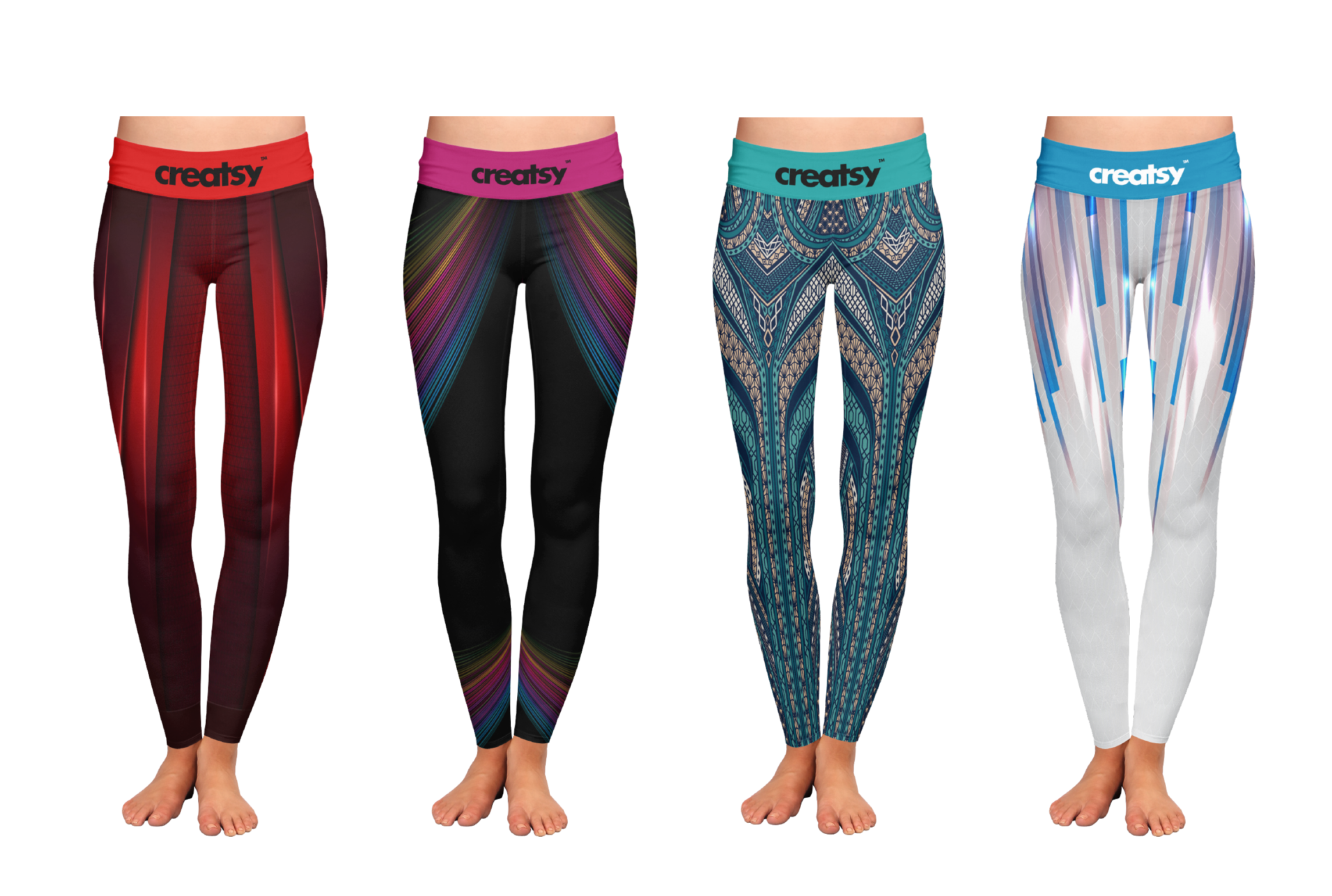 I will design leggings and yoga pants by pattern