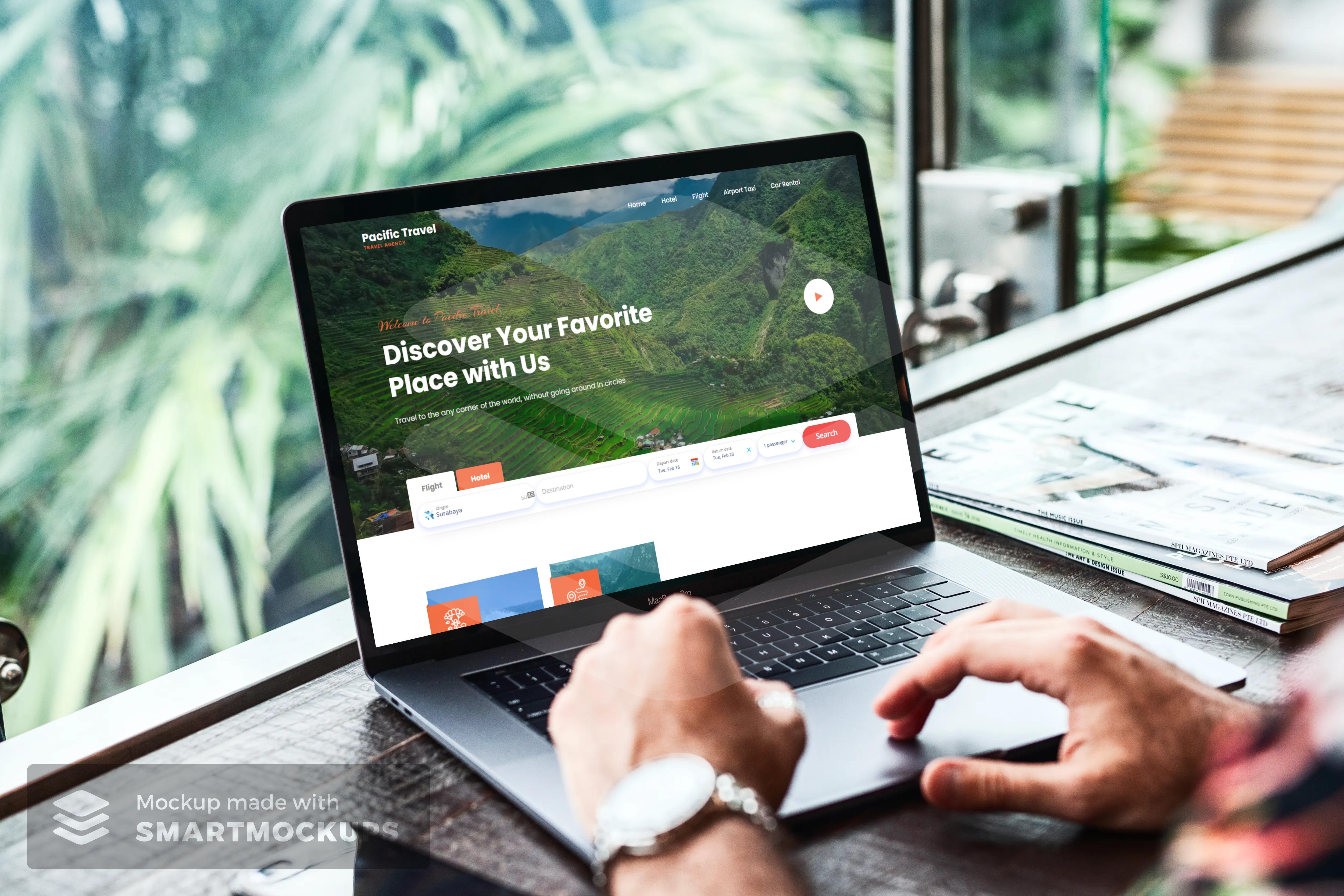 Travel affiliate website with blogger/blogspot platform