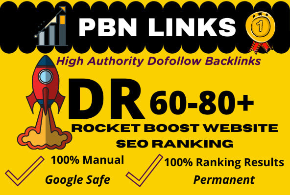 Create Manual 50 DR 60 To 80 High Quality Authority Seo Dofollow Backlinks Boost Your Google Ranking