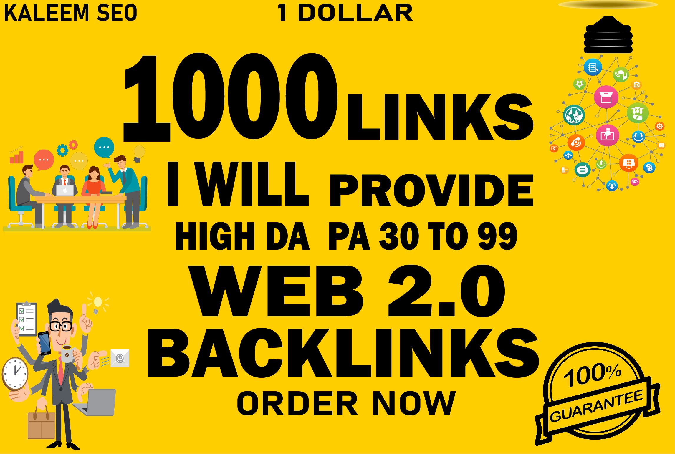 I will build 300 Contextual Backlinks web 2.0 backlinks for you