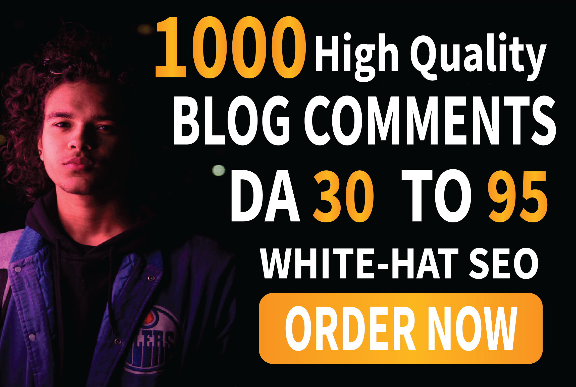I will build high quality backlinks using blog comments