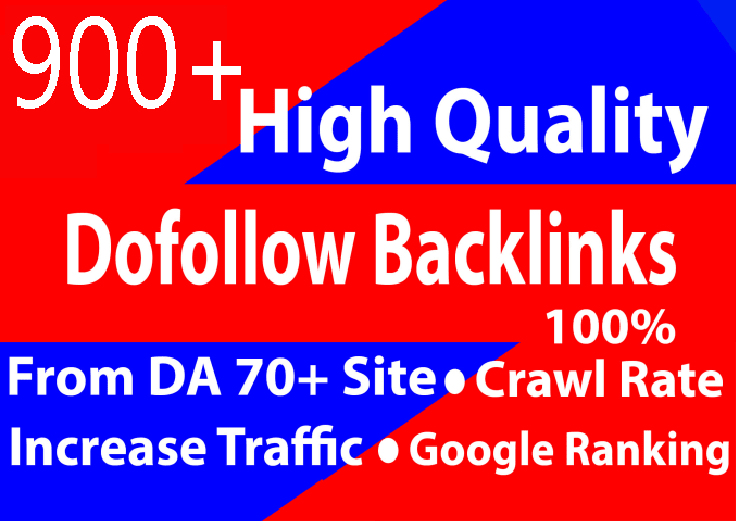 Create 900+ high quality dofollow SEO backlinks