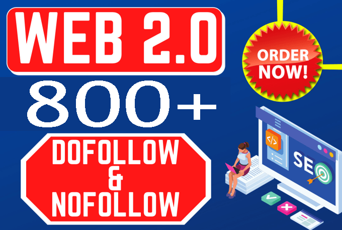 I will make 800+ high authority web 2 0 backlink