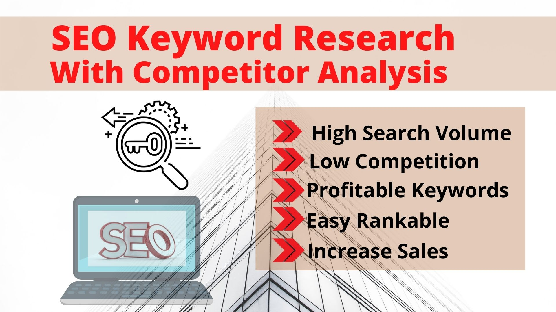 Keyword Research And Competitors Analysis