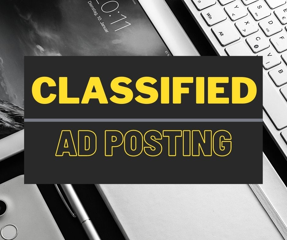 I will do high quality Classified Ads Posting