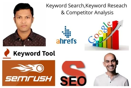 I will provide seo keyword research,  competitor analysis and backlink analysis