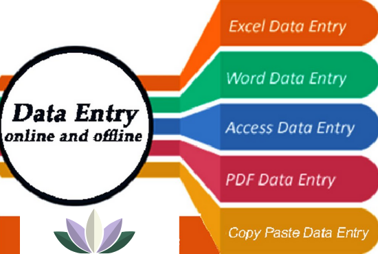 Data Entry Online & Offline Services