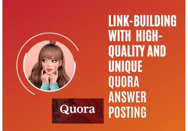 I will promote your website with 7 Quora backlink